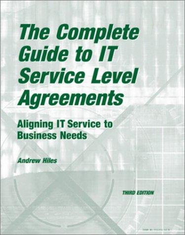 Download The Complete Guide to IT Service Level Agreements