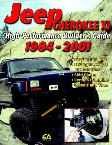 Jeep Cherokee Xj 2001. High-Performance Jeep Cherokee