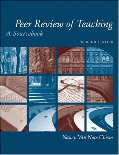 Download Peer Review of Teaching