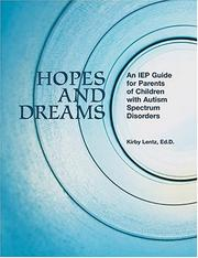 Thumbnail of Hopes and Dreams: An IEP Guide for Parents of Children with Autism Spectrum Diso