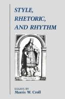 Image for Style, Rhetoric, and Rhythm