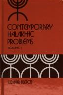 Download Contemporary halakhic problems