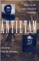 Image for Antietam: Essays on the 1862 Maryland Campaign