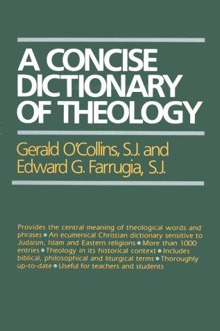 Download A concise dictionary of theology