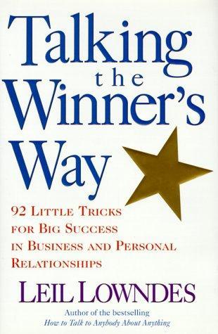 Download Talking the winner's way