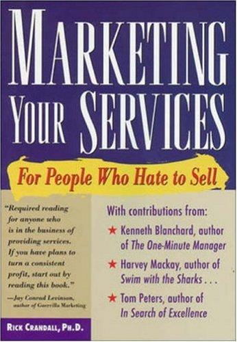 Download Marketing your services