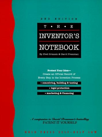 Download The inventor's notebook