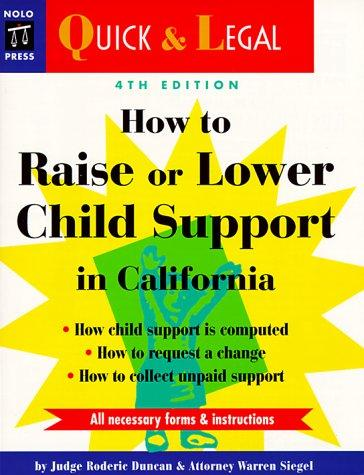 Download How to raise or lower child support in California