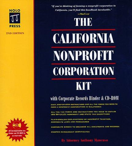 Download The California Nonprofit Corporation Kit