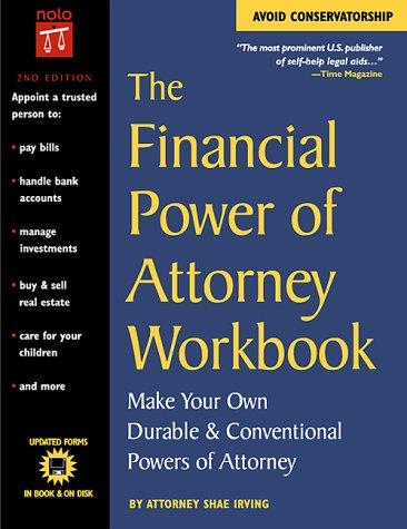 The financial power of attorney workbook