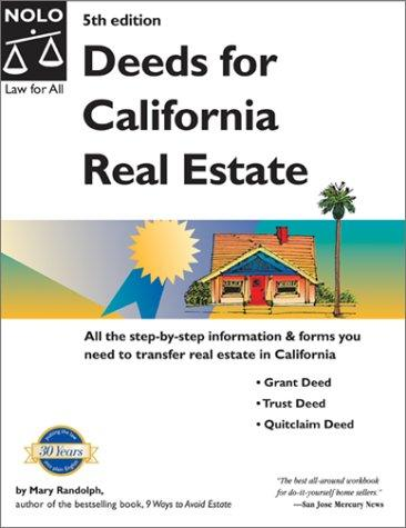 Download Deeds for California real estate