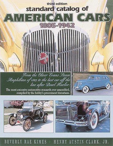 Standard catalog of American cars, 1805-1942