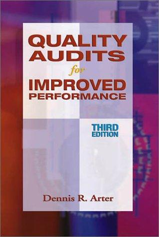 Quality Audits for Improved Performance