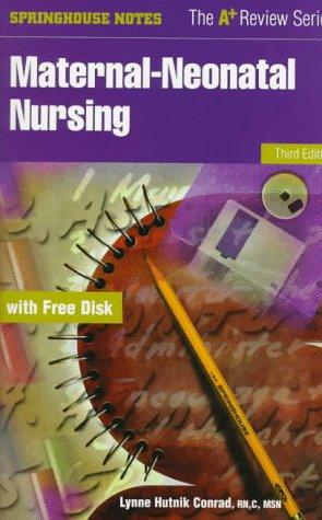 Maternal-neonatal nursing