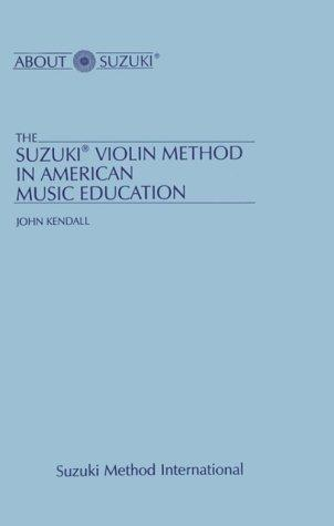 Download Suzuki Violin Method in American Music Education