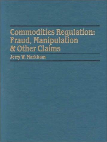 Commodities regulation