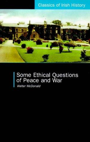 Download Some ethical questions of peace and war