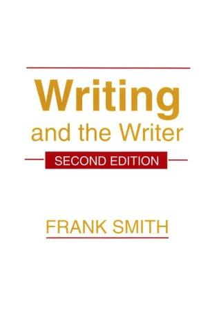 Download Writing and the writer