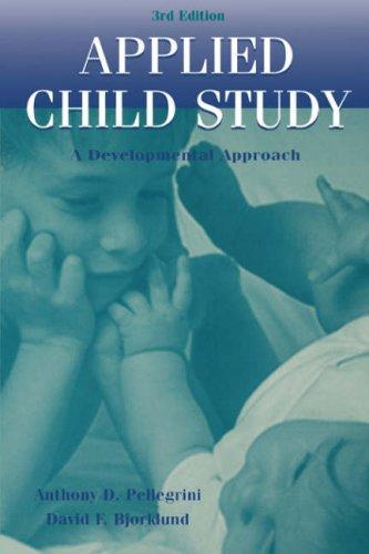 Download Applied child study