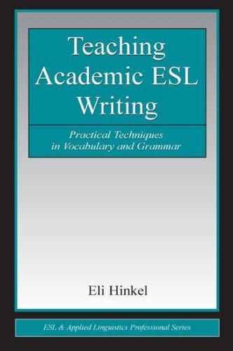 Teaching academic ESL writing