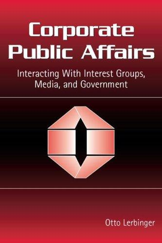 Corporate Public Affairs