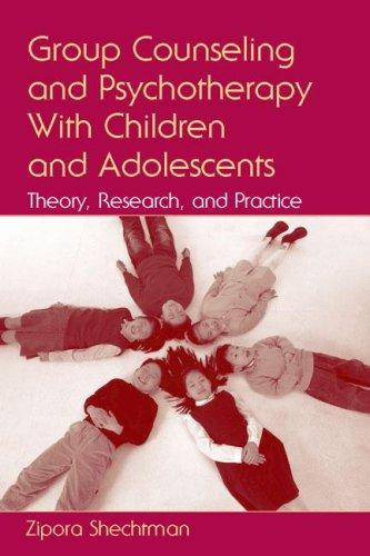 Download Group Counseling and Psychotherapy With Children and Adolescents