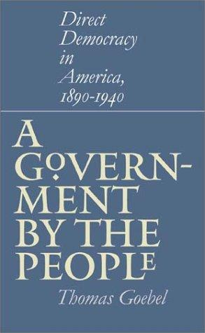 Download A Government by the People
