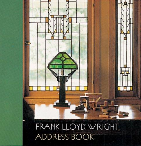 Download Frank Lloyd Wright Address Book