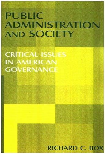 Download Public Administration and Society