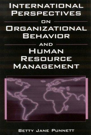 Download International Perspectives on Organizational Behavior and Human Resource Management
