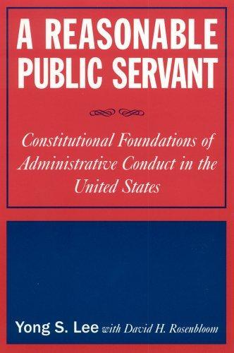 Download A reasonable public servant