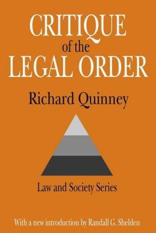 Download Critique of legal order