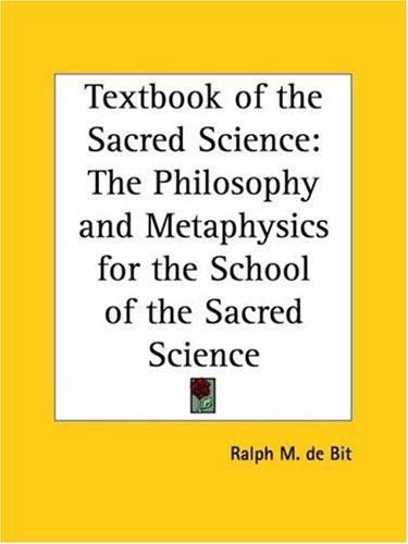 Download Textbook of the Sacred Science