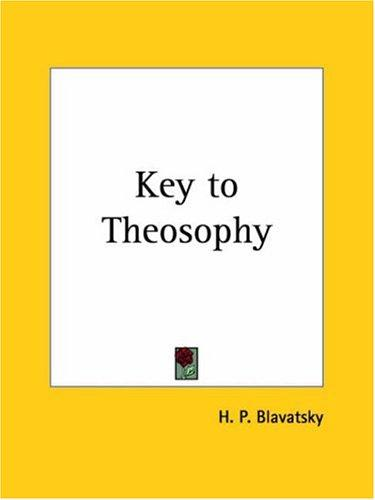 Download Key to Theosophy