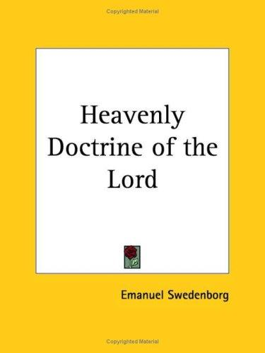 Download Heavenly Doctrine of the Lord
