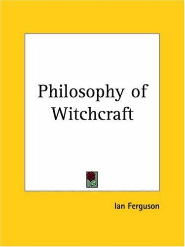 Download Philosophy of Witchcraft