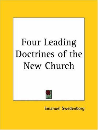 Download Four Leading Doctrines of the New Church