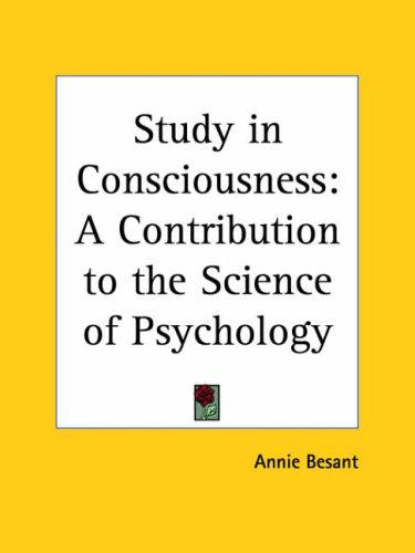 Download Study in Consciousness