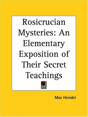 Download Rosicrucian Mysteries