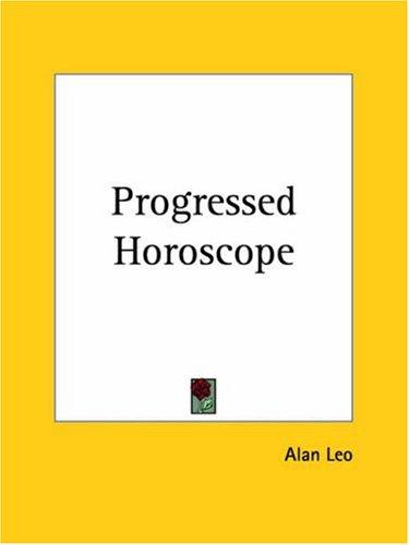 Download Progressed Horoscope