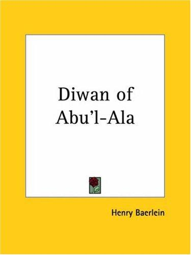 Download Diwan of Abu'l-Ala