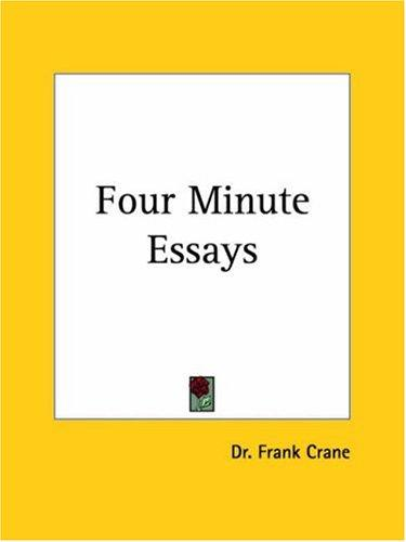 Download Four Minute Essays