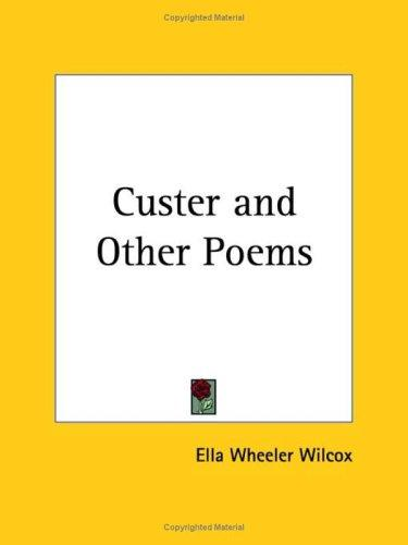 Download Custer and Other Poems