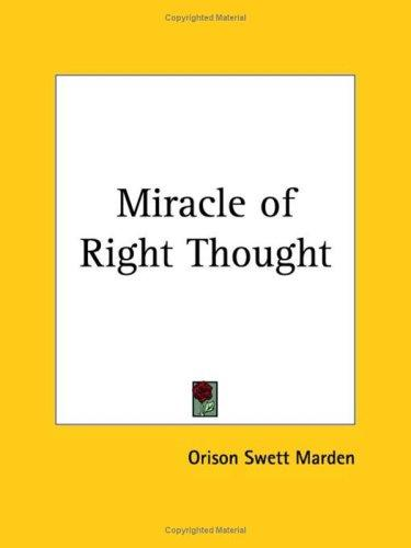 Download Miracle of Right Thought