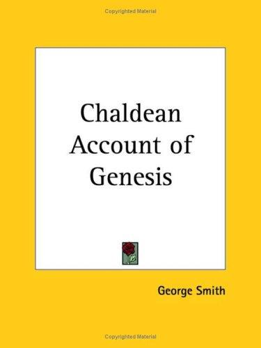 Download Chaldean Account of Genesis