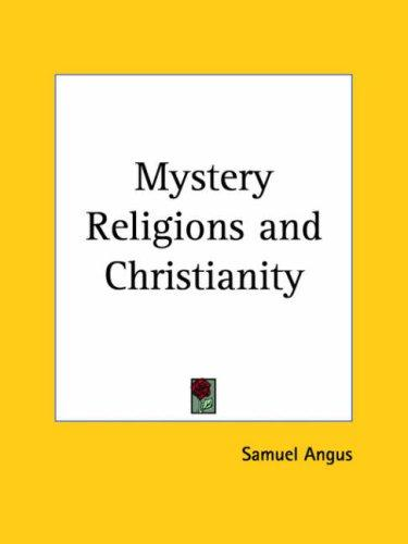 Download Mystery Religions and Christianity
