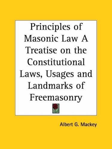 Download Principles of Masonic Law