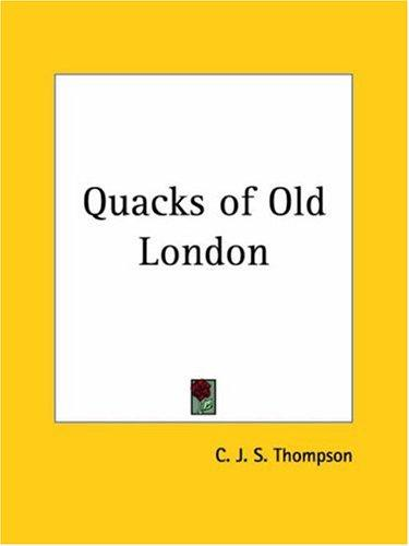 Quacks of Old London