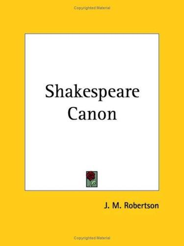 Download Shakespeare Canon