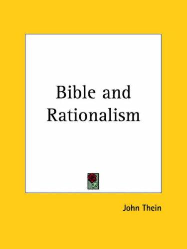 Bible and Rationalism